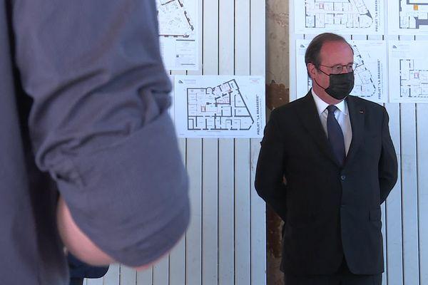 François Hollande en Moselle pour soutenir discrètement mais fermement la liste Romani