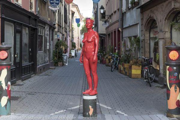 Le festival des arts de la rue, distanciation imposée également
