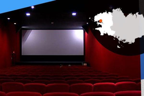 La salle du cinéma l'Image de Plougastel