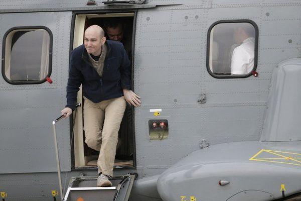 Nicolas Hénin, retrouve le sol français le 20 avril 2014