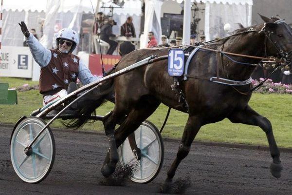 Up and Quick, drivé par JM Bazire a remporté le 94ème Grand Prix d'Amérique