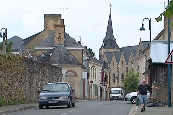 Commune de Parigné-l'Évêque où l'abbé Guibert a exercé son ministère jusqu'en juin 2015.