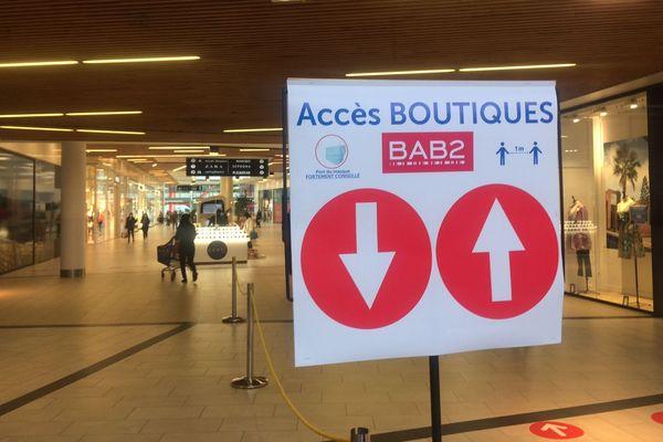 Attention au sens de circulation dans les allées de BAB2 !