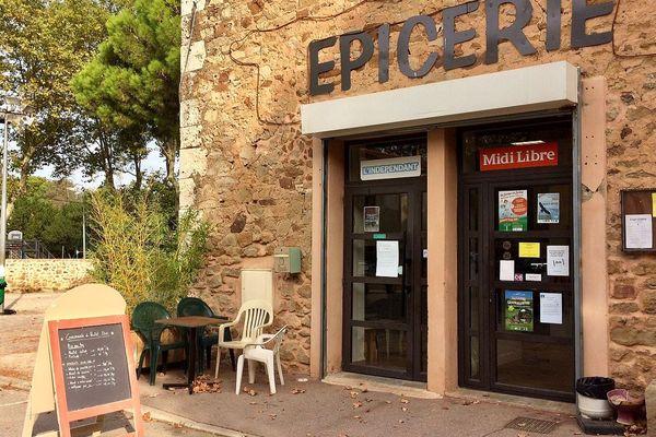 Montséret (Aude) - l'épicerie solidaire - septembre 2018.
