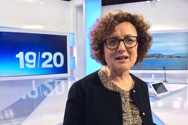 12/04/2017  -Maria Guidicelli, conseillère territoriale du groupe Prima a Corsica