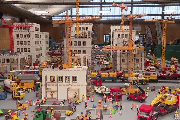 Le thème de cette cinquième exposition Playmobil à Calais est New-York, un thème qui a inspiré Jean-Michel Leuillier, le plus grand collectionneur français.