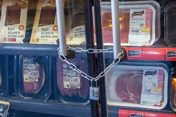 Les éleveurs protestent contre les prix d'achat de la viande par la grande distribution