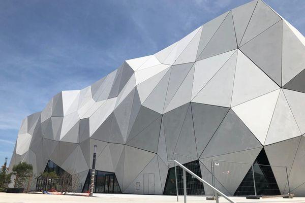 Cannes (Alpes-Maritimes) : Les travaux avaient commencé en février 2019, le chantier est presque totalement achevé : le complexe de cinéma accueillera 12 salles.