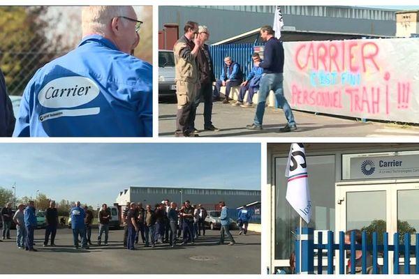 90 salariés sur le carreau après l'annonce de la fermeture de l'entreprise Carrier.