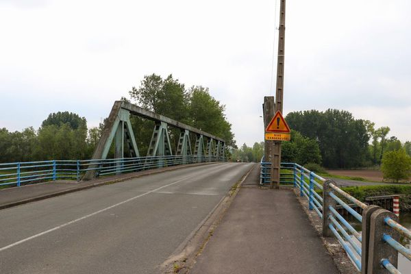Le pont d'Hergnies de nos jours.
