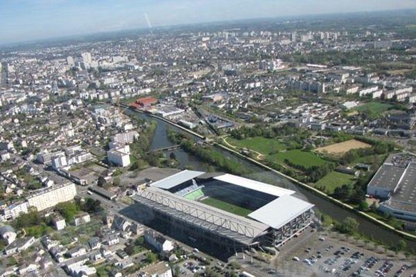 Une vue aérienne de Rennes