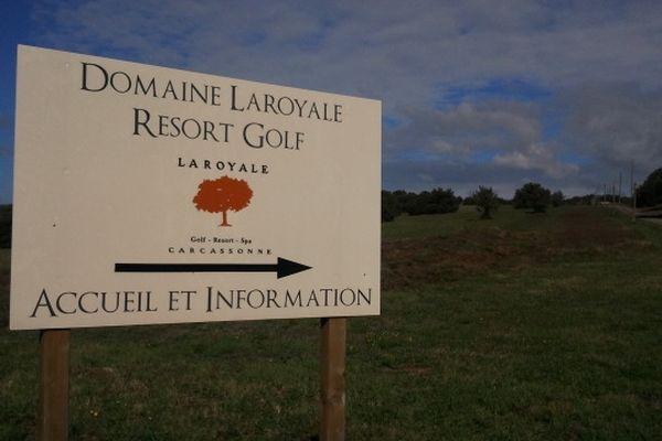 Villardonnel (Aude) - projet de golf - 23 octobre 2012.