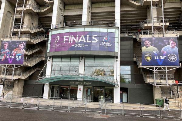 L'entrée du stade de Twickenham