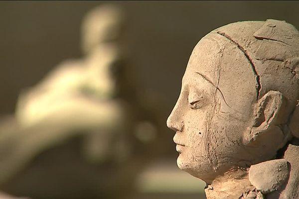 Les œuvres du sculpteur Georges Jeanclos sont visibles jusqu'en septembre 2017