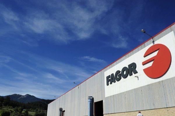 L'usine Fagor à Montragon au Pays Basque