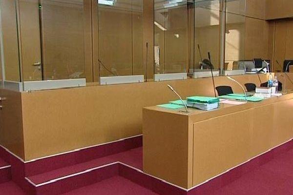 Colmar (Haut-Rhin) - la cour d'assises - archives