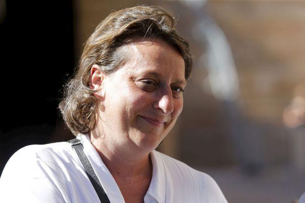 Olivia Fortin, nouveau maire du 4e secteur de Marseille.