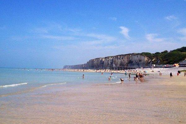 La plage de Veules-les-Roses