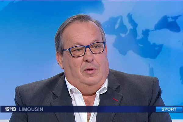 Gérard Chevalier, président du LFC, qui devrait monter en Nationale 2 l'an prochain.