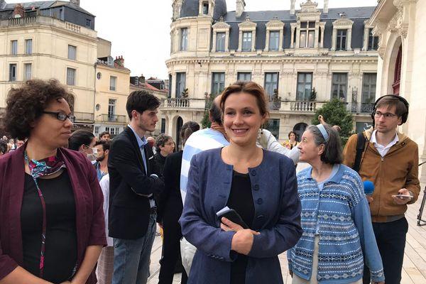 Léonore Moncond'huy élue maire de Poitiers