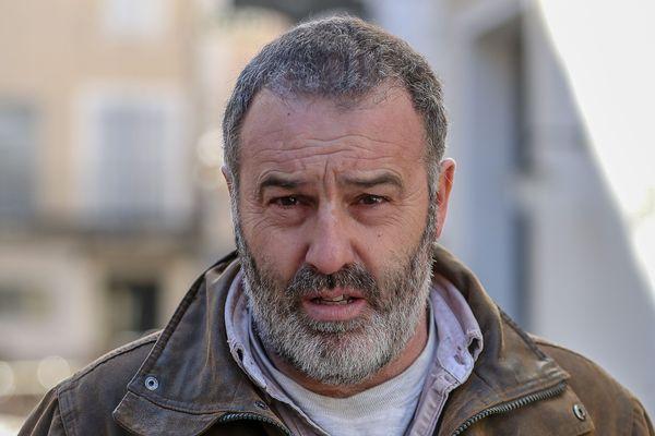 """Christophe Chalençon, une figure du mouvement des """"gilets jaunes"""" avait lancé un appel à """"assiéger Paris""""."""
