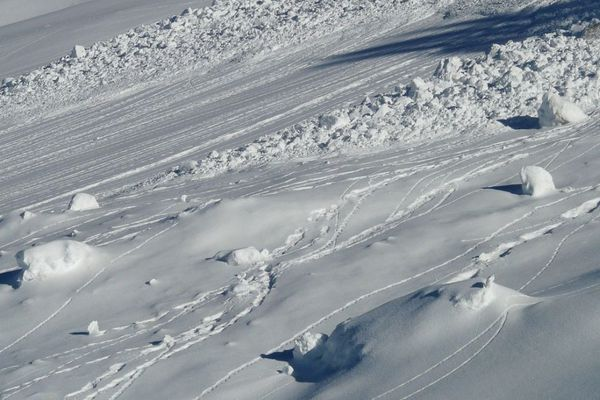 Photo d'illustration d'avalanche