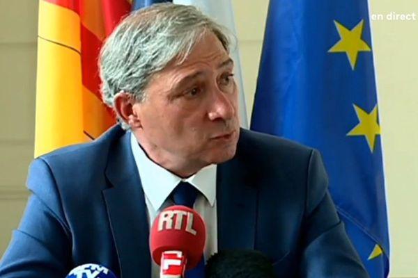 Jean-Michel Prêtre. Le procureur de la République à Nice