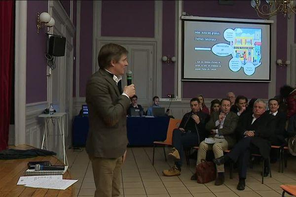Le grand débat des commerçants à Besançon
