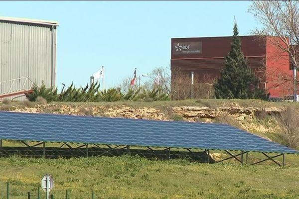 Le site EDF Energies Nouvelles de Colombiers (Hérault)