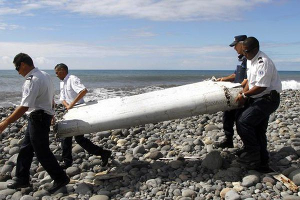 La découvert d'un débris d'avion de Boeing 777 en juillet 2015 à la Réunion