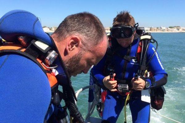 Opération de contrôle des clubs de plongée à La Grande-Motte