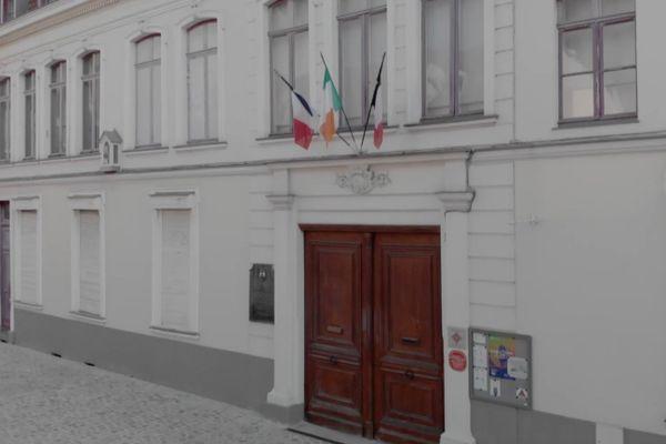 Le 9 rue Princesse à Lille, maison natale de Charles de Gaulle.