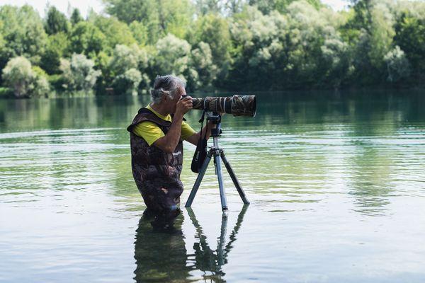 Un équipement de professionnel pour un photographe amateur.