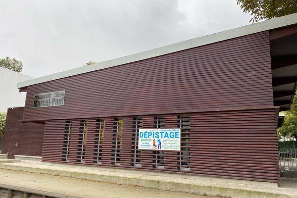 Aucune queue lundi 28 novembre devant le nouveau centre de dépistage rue Jean-Macé à Petit-Quevilly.