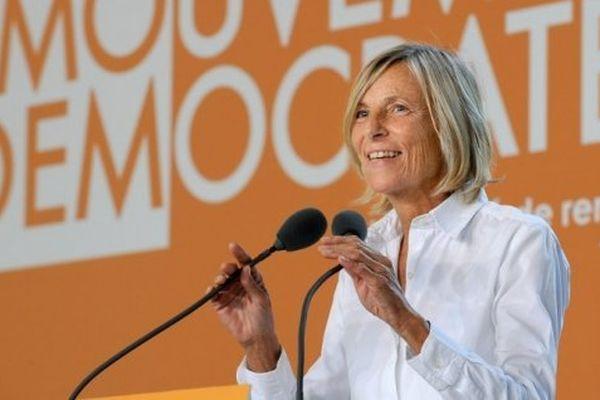 Bras droit de François Bayrou, Marielle de Sarnez est vice-présidente du Modem et députée européenne depuis 1999.