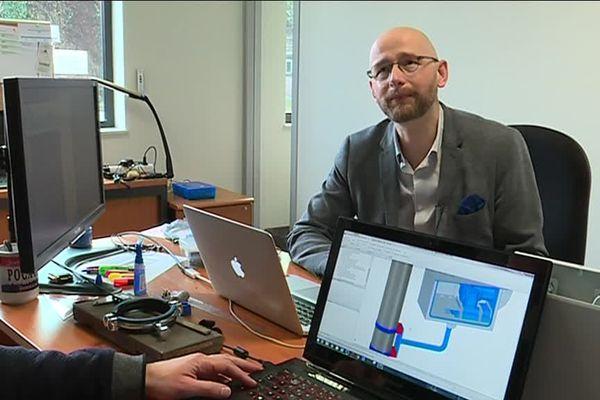 Romain Dudek, co-fondateur de Qwantis (outils de suivi de chantiers)