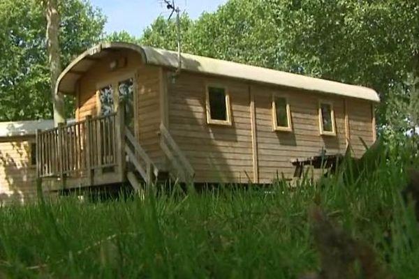 Le camping du bois de Boulogne, rénové.