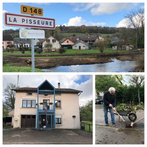 La Pisseure est l'une des 10 plus petites communes de Haute-Saône : 36 habitants au dernier recensement
