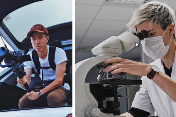 Le vidéaste Tanguy Leroux est interne en biologie médicale au  Centre Hospitalier Intercommunal - Elbeuf Louviers Val de Reuil