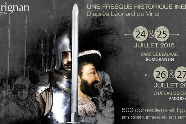Le spectacle, recrée d'après la fresque de Léonard de Vinci se produira 4 fois cet été.