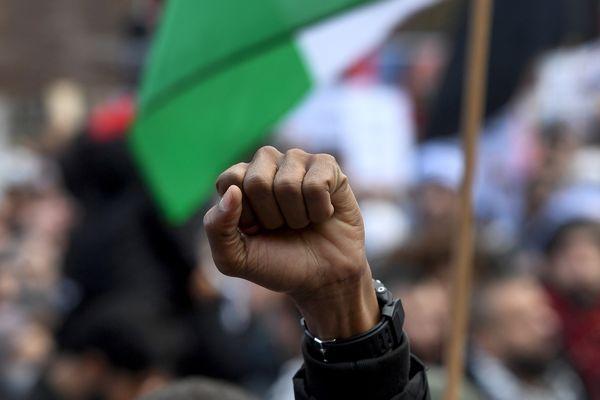 Photo d'illustration. Des manifestations de soutien à la Palestine sont organisées dans le monde entier après l'escalade militaire croissante depuis lundi 10 mai, comme en Australie, à Melbourne, ce 15 mai 2021.