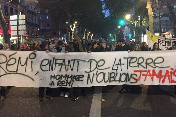 Les manifestants ont parcouru les boulevards toulousains