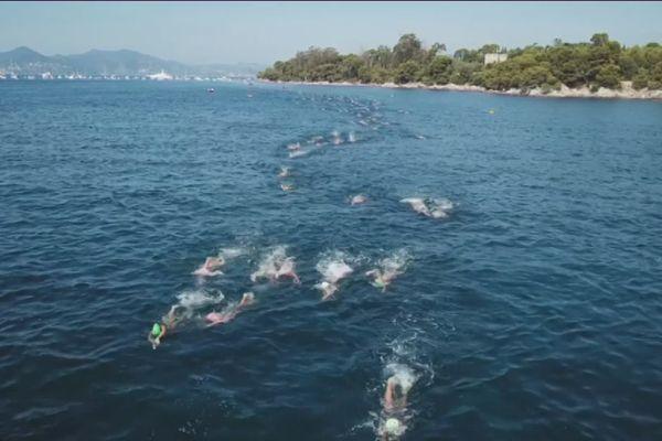 200 nageurs ont accompli la traversée entre les îles de Lérins ce dimanche.