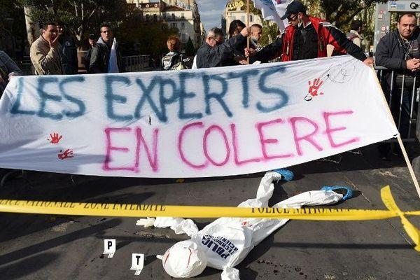 Les agents de la police scientifique seront en grève le jeudi 9 janvier 2020.