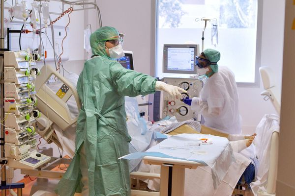 Dix malades de la COVID ont été admis dans un service de réanimation depuis le 9 octobre