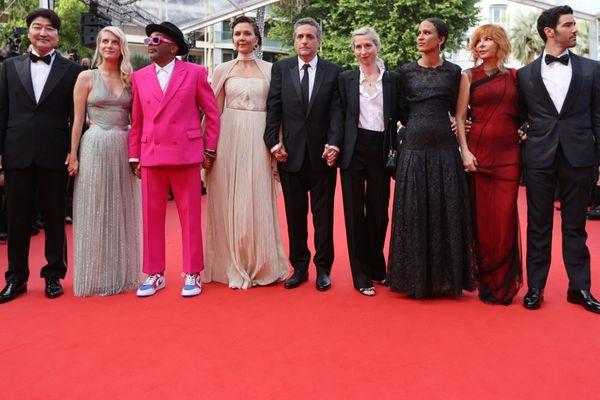 Le jury du 74e Festival de Cannes, présidé par Spike Lee.