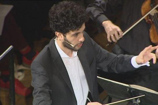 Marc Hajjar, l'un des 20 finalistes au concours international de jeunes chefs d'orchestre