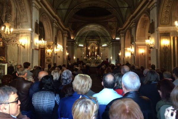 La messe en corse ce matin à l'archiconfrérie Saint Joseph.