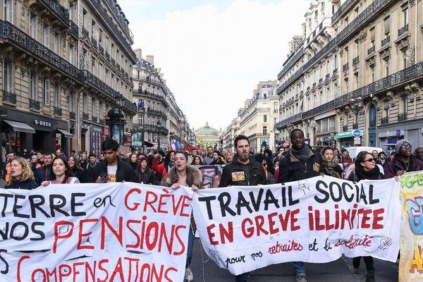 Manifestation contre la réforme des retraites du 3 février 2020