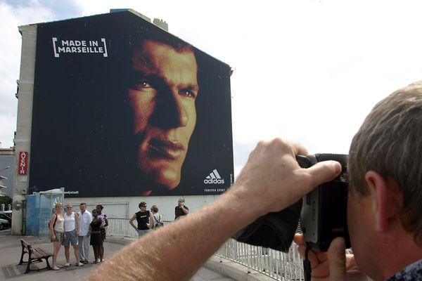 Le portrait de Zidane avait été retiré de la Corniche en 2006.